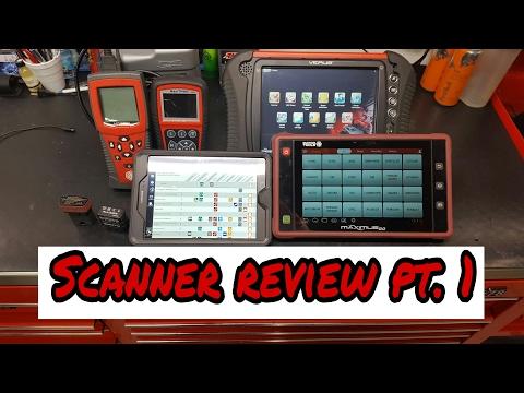 Scanner review pt.1 ( Snapon, Matco, Alldata, Autel)