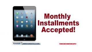 Full range of Apple iPads available from Forestals & Matrix. Monthly payments accepted!