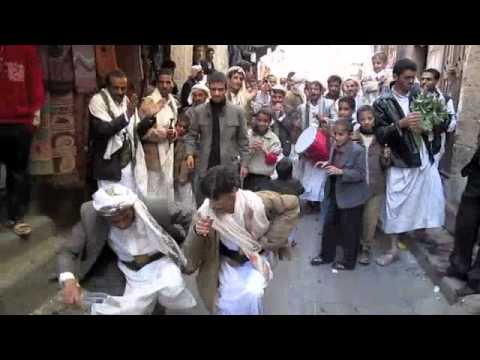 Sights and sounds of the old city area of Sana'a, Yemen