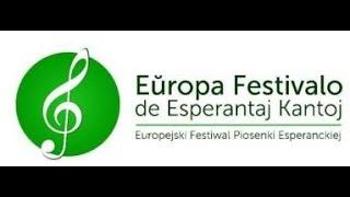 La 8 Europa Festivalo de Esperantaj Kantoj/8 Europejski Festiwal Piosenki Esperanckiej