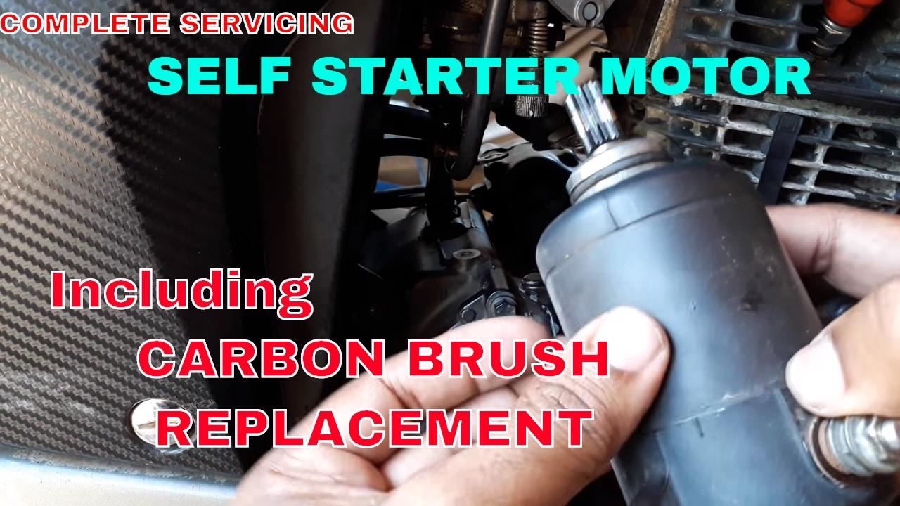 medium resolution of starter motor repair servicing