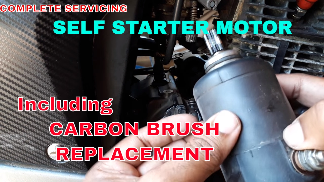 starter motor repair servicing  [ 1280 x 720 Pixel ]