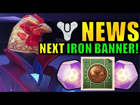 Destiny 2 News: NEXT IRON BANNER! – EASY Powerful Gear! – Big DLC Change!