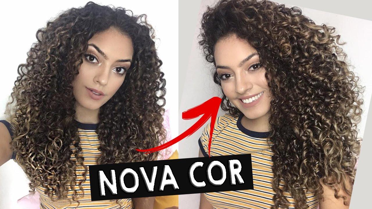 NOVO CORTE + OMBRE HAIR DO MEU CABELO CACHEADO