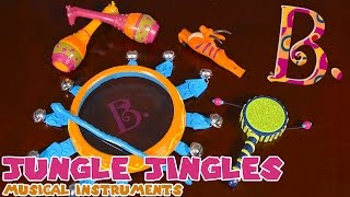 Jungle Jingles Musical Instruments from B. Toys