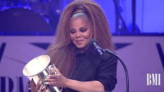 Janet Jackson Accepts the BMI Icon Award at the 2018 BMI R&B/Hip-Hop Awards
