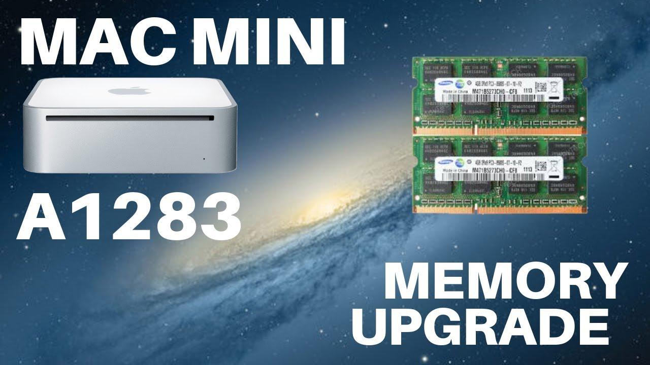 mac mini a1283 ram upgrade