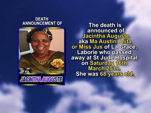 Jacintha Auguste short