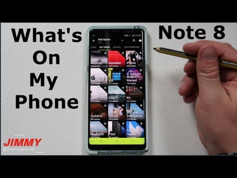 What's On My Galaxy Note 8