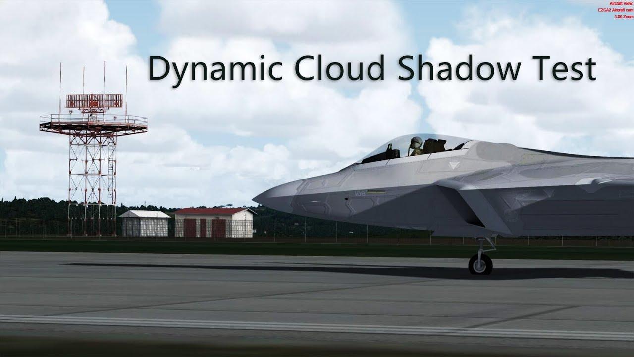Prepar3D v4 - Dynamic Cloud shadow with PTA 2 51 test