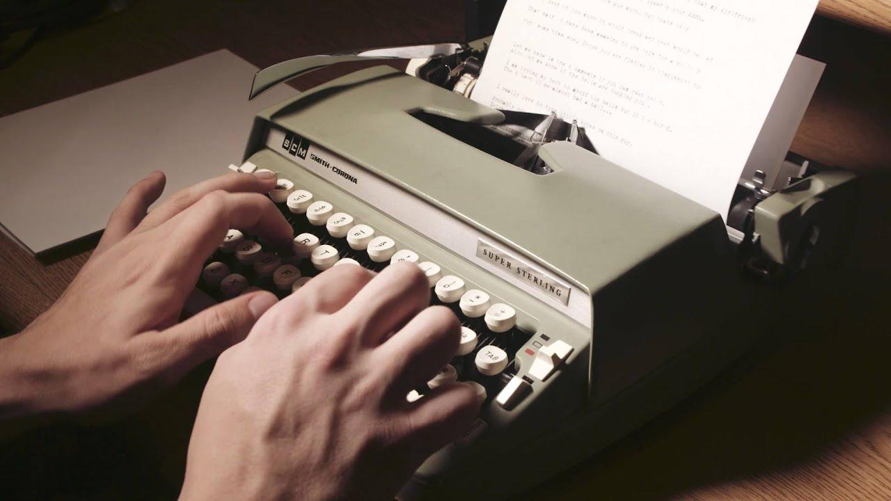 ASMR - Typing on a Typewriter (No Talking) - YouTube