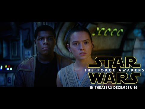Star Wars: The Force Awakens trailers