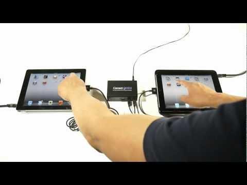 iConnectMIDI and Two iPads