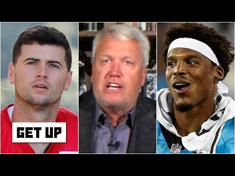 'NO CHANCE!' - Rex Ryan on Jarrett Stidham starting Week 1 over Cam Newton | Get Up