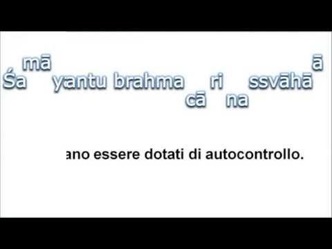 SHIKSHAVALLI (TAITTIRIYA UPANISHAD) con trad.italiana