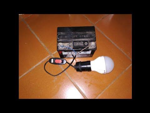 Cara Merubah Lampu Led 220 Vol Ac Jadi 12 Vol Dc Youtube