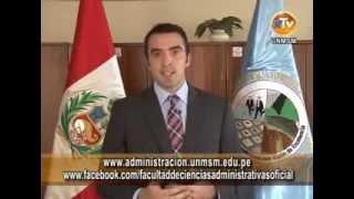 Facultad de Administración UNMSM organiza