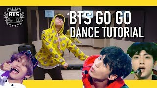 BTS (방탄소년단) - Go Go (고민보다 Go) Dance Tutorial | Full w Mirror [Charissahoo]