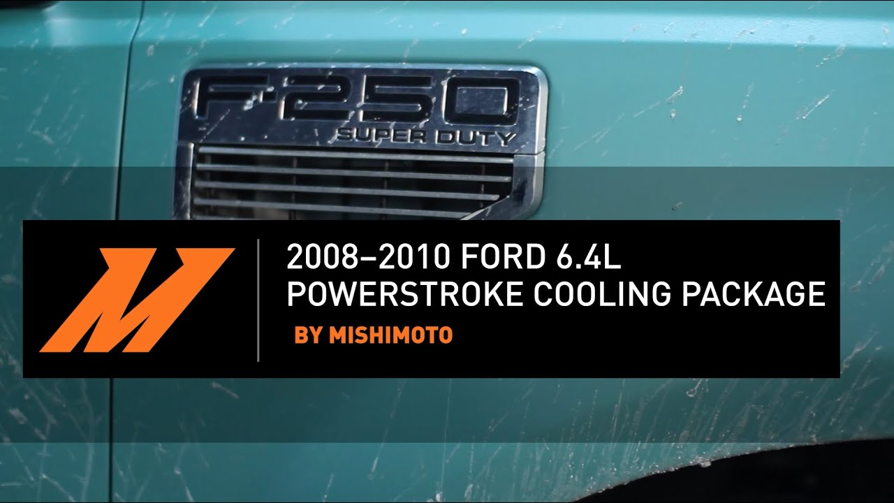 medium resolution of 2008 2010 ford 6 4l powerstroke cooling package installation guide by mishimoto
