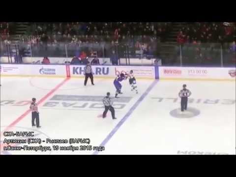 Самые зрелищные драки в истории КХЛ: Артюхин, Ничушкин