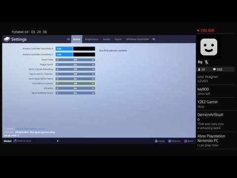 how to use mouse on ps4 fortnite