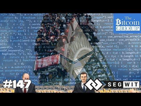 The Bitcoin Group #147 - Segwit2X - ETH Flash Crash - Status & Civic - Coinbase & Cryptsy