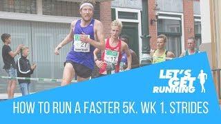 Faster 5k in 5weeks Challenge. Week 1