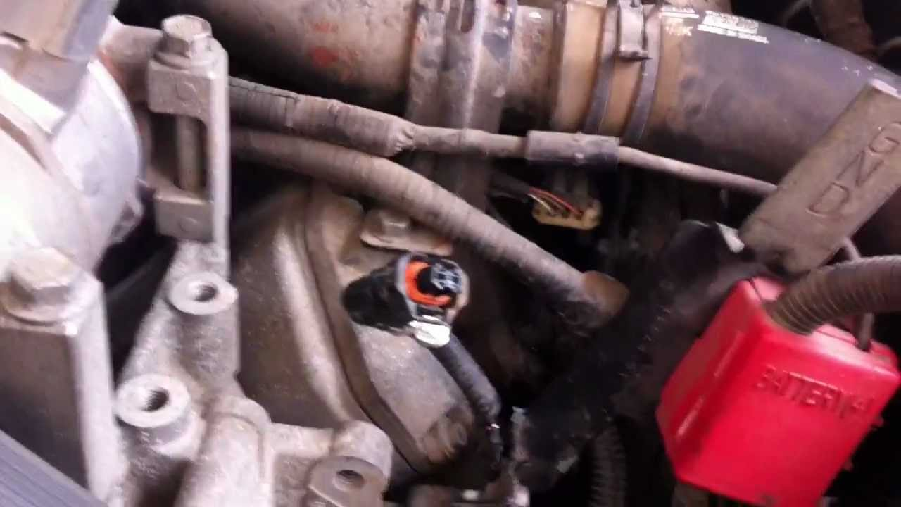 maxresdefault how to fix duramax code p0202\\p2149 (instructions in description 2004 duramax injector wiring harness at creativeand.co