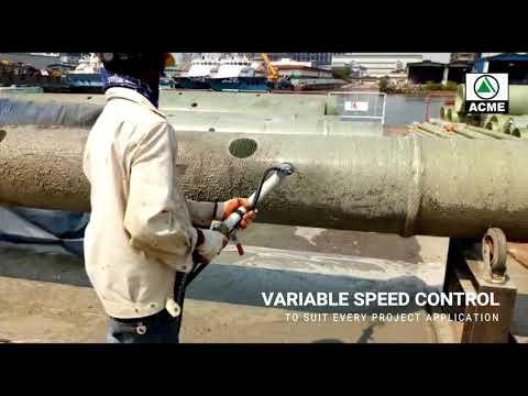 Spraying BASF Emaco S5400 With Acme Equipment