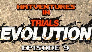 Hatventures - Trials Evolution #9 - Takeshi's Castle! Skyrim!