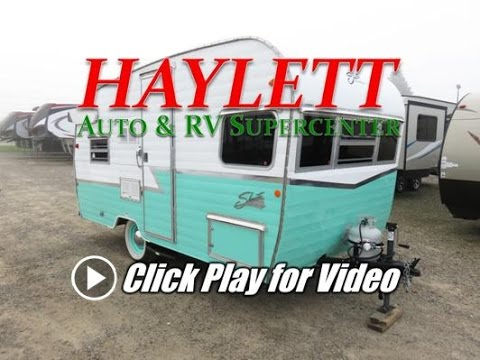 HaylettRV.com - 2015 Shasta Airflyte 16 Reissued Classic Used Retro Travel Trailer