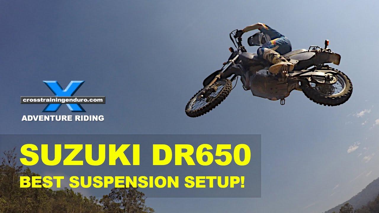 FFRC DR650 SERIES 9: best suspension upgrade ever!