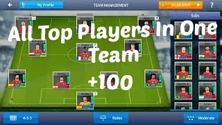 Dream League Soccer 2017 - All Top Players In One Team With 100 Rating Save File