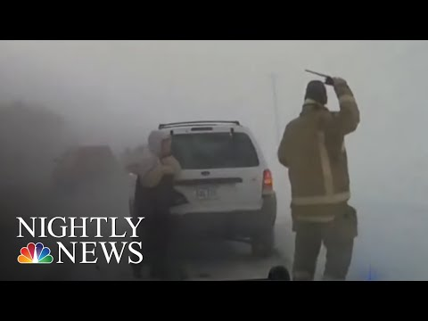 105 Million In Path Of Monster Winter Storm | NBC Nightly News