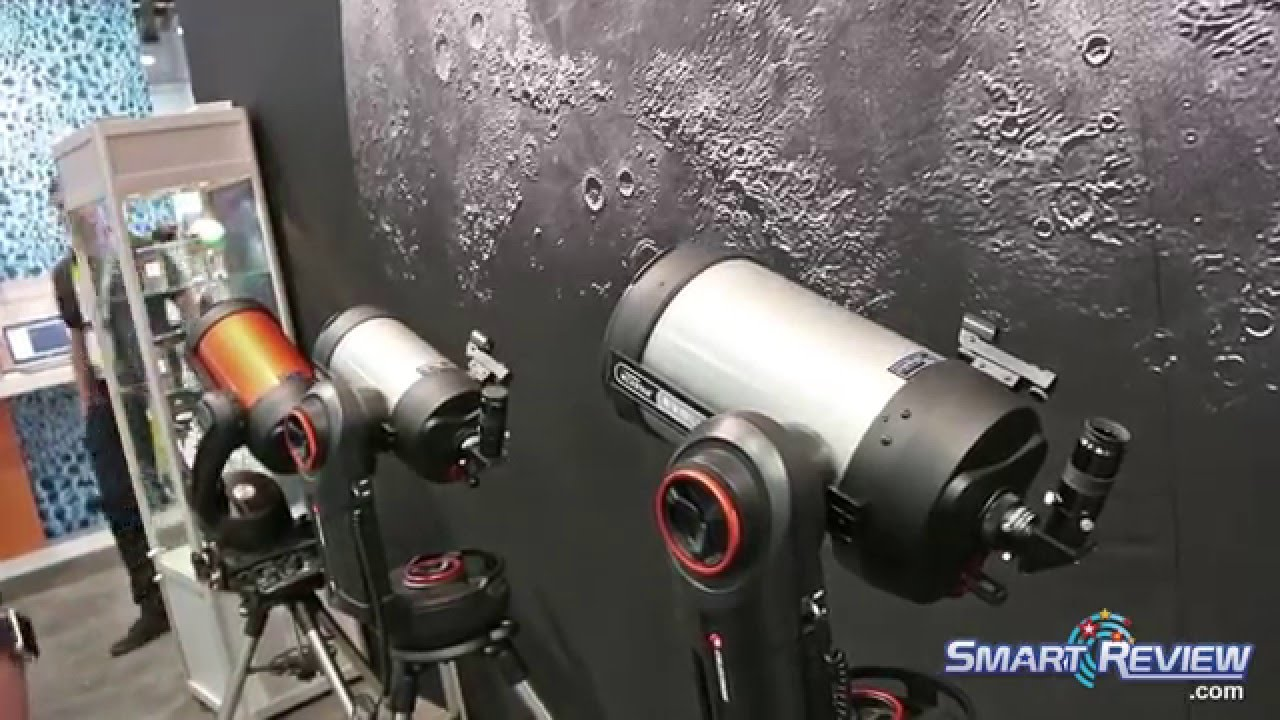 CES 2016 | Celestron Nexstar Evolution Telescopes | WiFi Enabled |  SmartReview com