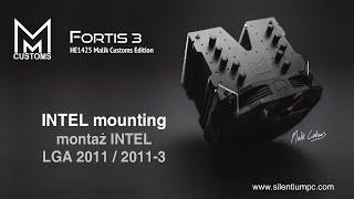 silentiumpc fortis 3 he1425 malik customs edition intel lga 2011 3