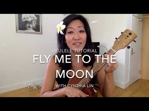 Fly Me to the Moon  Jazz Ukulele Tutorial