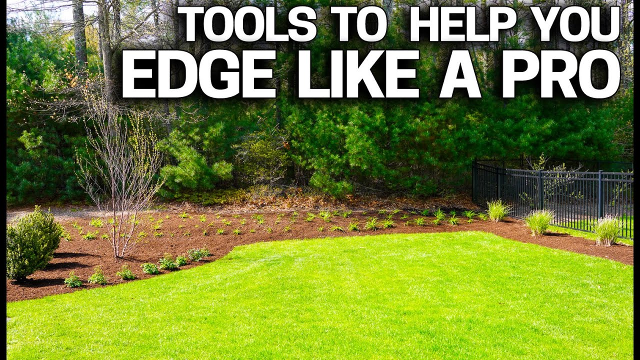 3 tools to edge your lawn beds like a pro