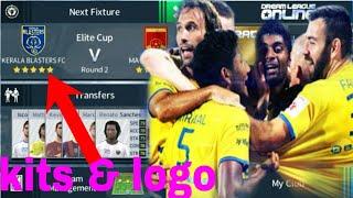 How to Create Kerala Blasters FC Kits & Logo 2018 | Dream League Soccer 2018