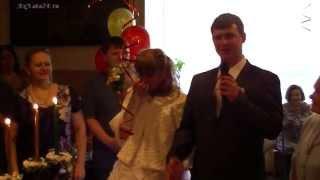 """Зажжение семейного очага на свадьбе. ПЦ """"Семья и компания"""".Ведущая - Н.Ахмедова"""