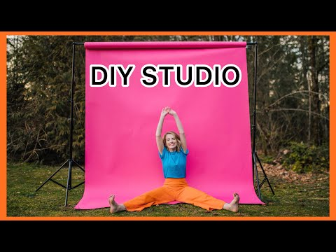 DIY Outdoor Studio Photoshoot   How To Take Great Photos Wherever You Live