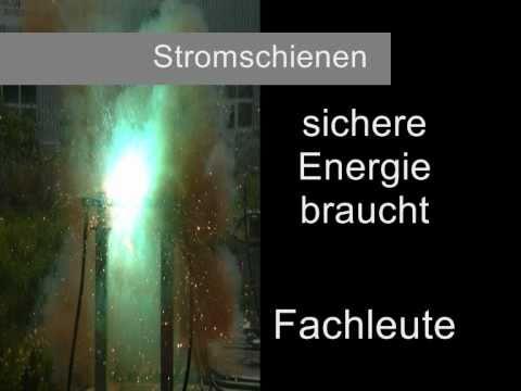 Stromschienen lose mehr als 1000A knall Explosion Top Kurzschluss ...