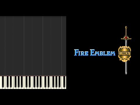 Fire Emblem Gaiden | Twilight Of The Gods [FC] Synthesia