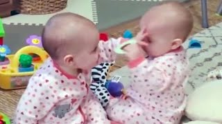Top 50 Funniest Home Videos in America - Try not to laugh twin babies videos