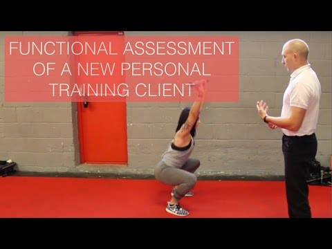 Functional Assessment Of A New Personal Training Client