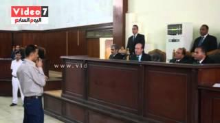 """شاهد بـ""""أحداث حدائق حلوان"""": أحد المتهمين ألقى مولوتوف على سيارة النجدة"""