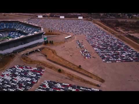 uncut with extra footage VW staging area filmed in 4K