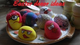Get Ready With Me... For Easter! Pretty Easter Table Decoration Ideas! Minions, Angry Birds...