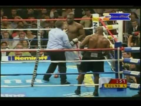 Mike Tyson V's Danny Williams