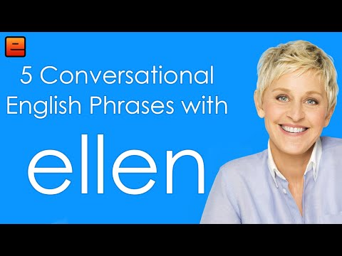 5 Conversational English Phrases with Ellen - The English Fluency Guide - EnglishAnyone com